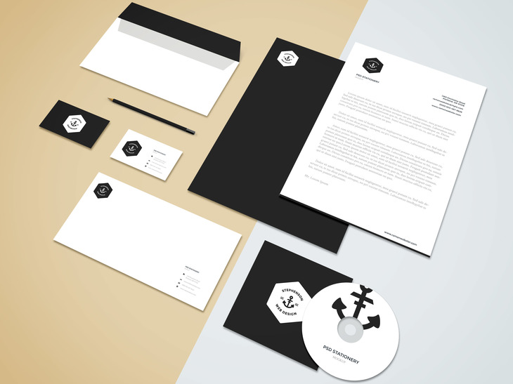 branding stationery mockup vol 5