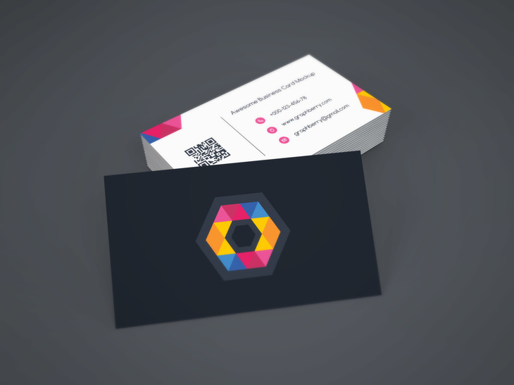 Business Card Mockup Vol9 Preview