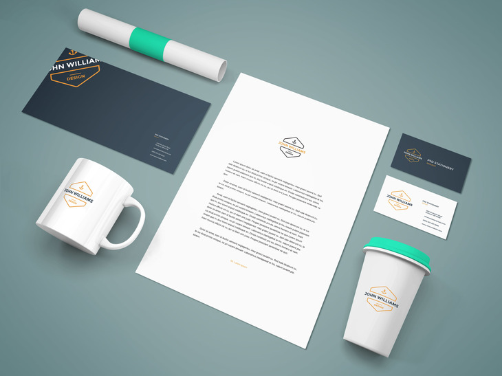 Branding Stationery Mockup Vol.9 preview