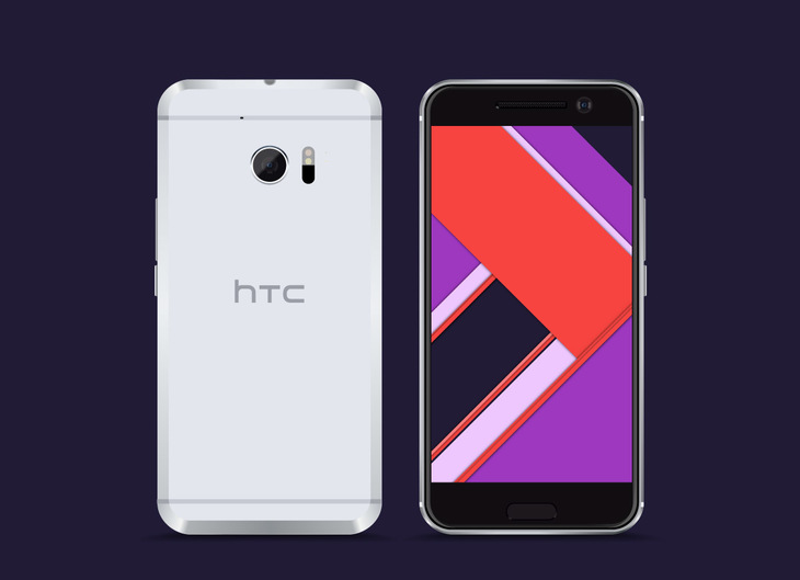 Free Vector HTC 10 Model preview