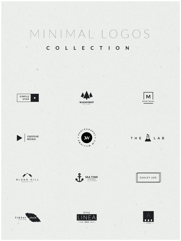 minimal logos collection