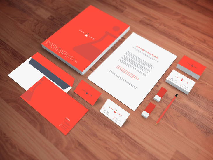 Realistic Stationery PSD Mockup preview