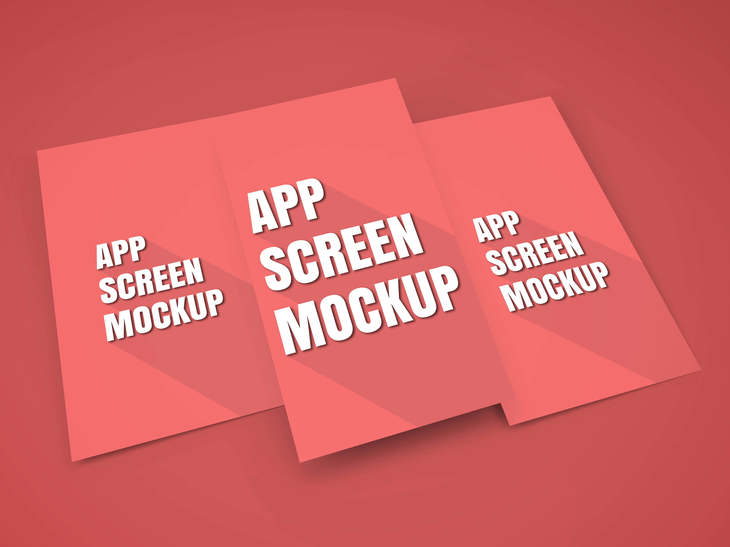 App Screen Showcase Mockup Vol.5 preview