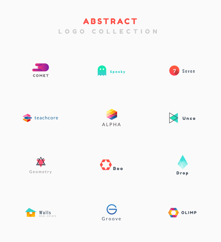 Abstract Logo Collection preview