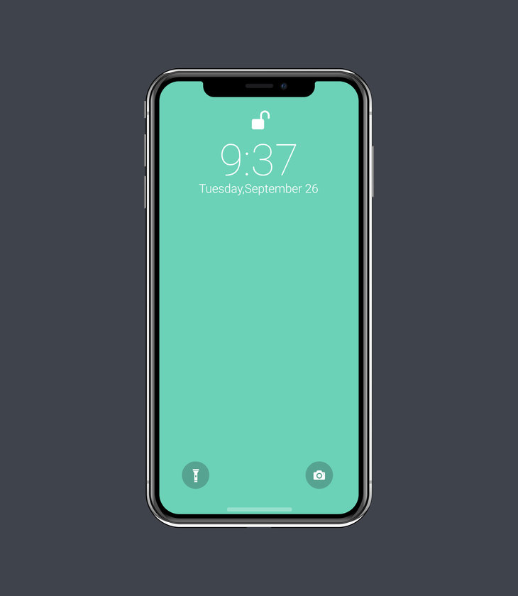 Vector iPhone X Mockup - graphberry.com