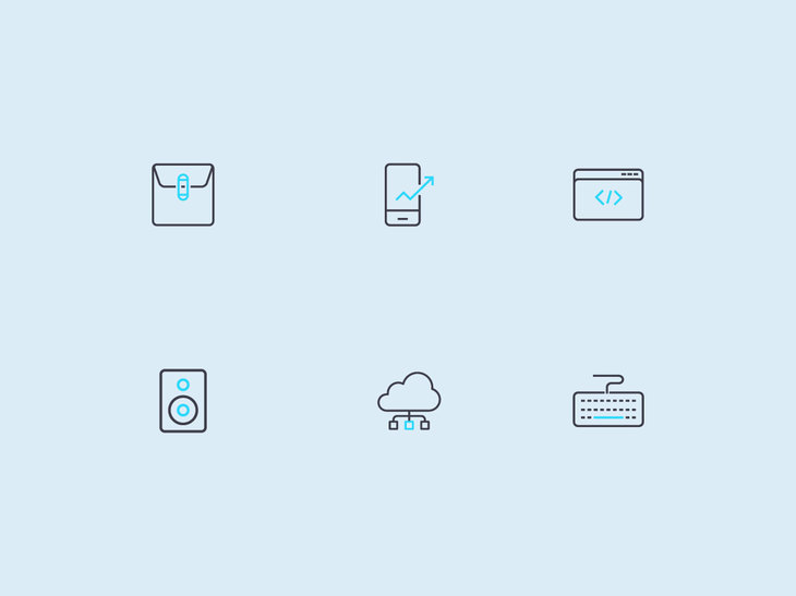 Vector Technology Icons preview