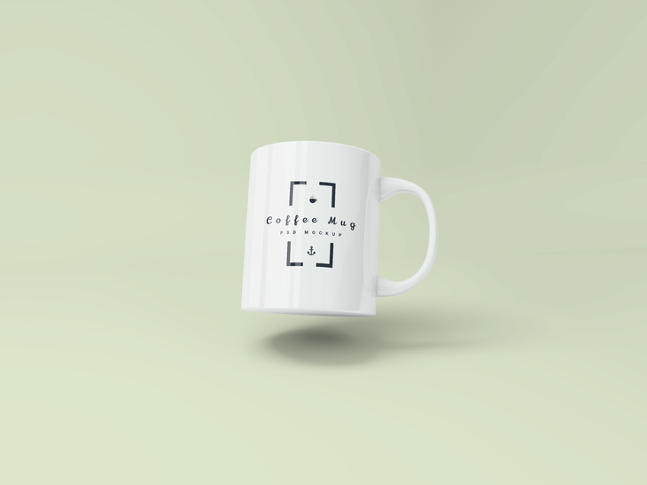 Coffee Mug PSD Mockup preview