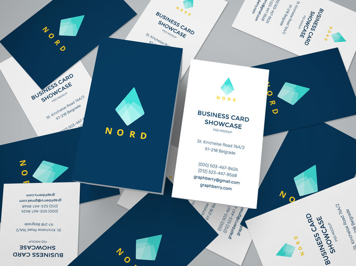 Business Cards Mockup Vol.15 preview