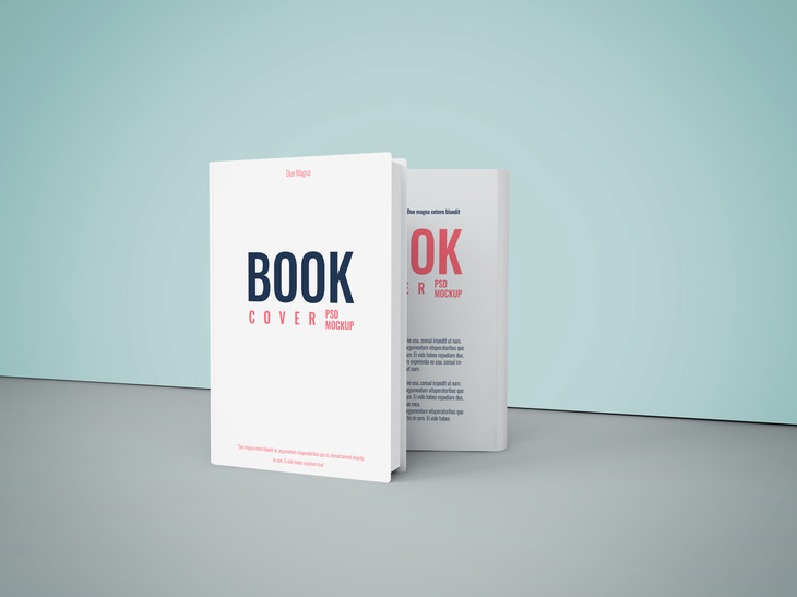 Book Cover PSD Mockup preview