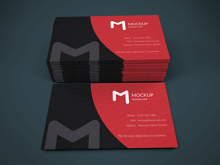 Business Card Mockup Vol.1 preview