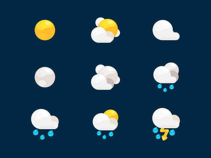 Weather Icon Set preview