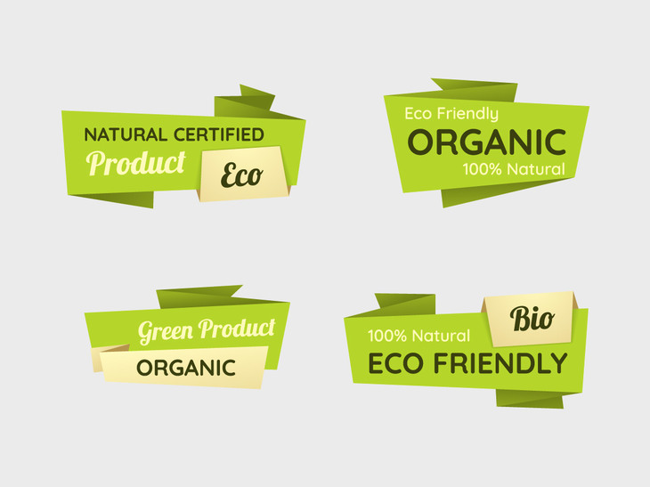 Vector Eco Labels preview