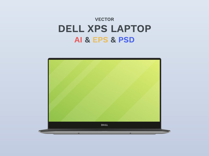Free Vector Dell Laptop preview