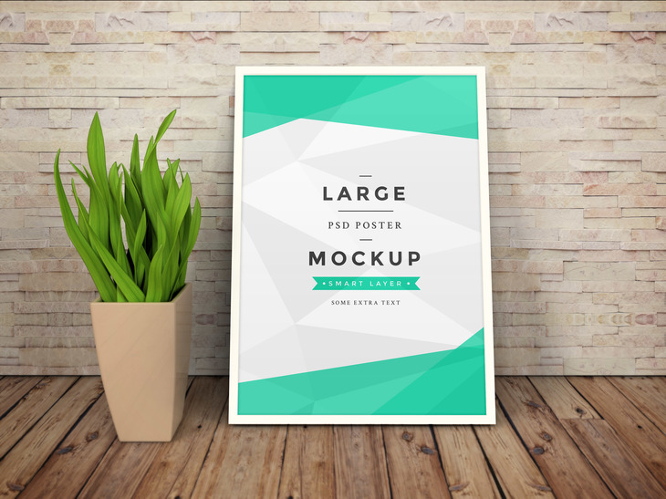 Artwork Frame PSD Mockup Vol.2 preview