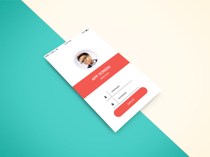 App Screen Showcase Mockup Vol.2 preview