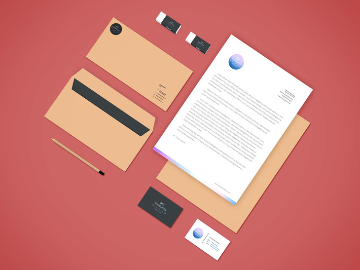 Branding-Stationery Mockup Vol.4 preview