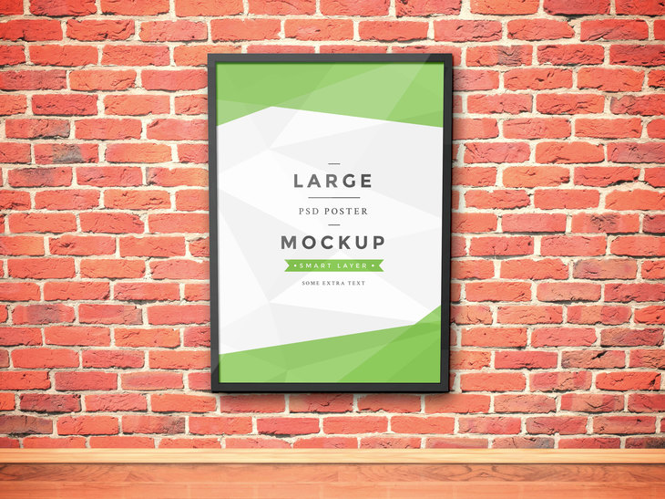 Artwork Frame PSD Mockup Vol.3 preview