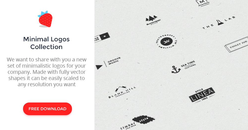 minimal logos collection