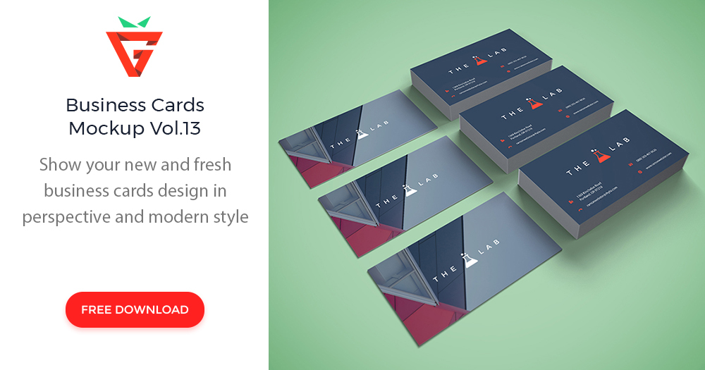 Business cards mockup vol13 graphberry reheart Image collections