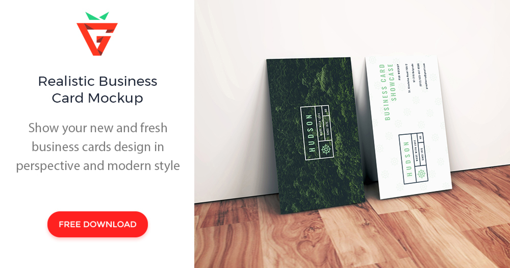 Realistic business card mockup graphberry reheart Images