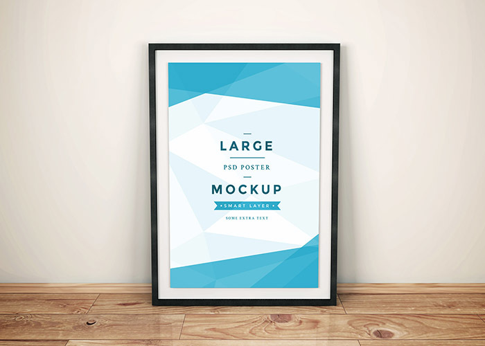 Artwork Frame PSD Mockup Vol.4 - graphberry.com
