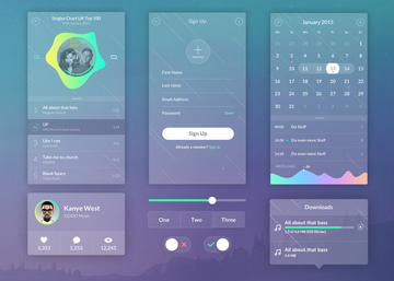 Zen Transparent UI Kit