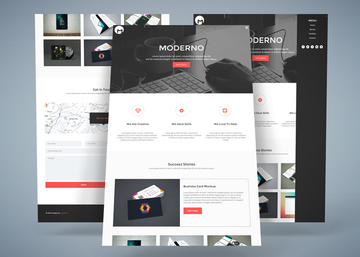 Moderno - Free HTML5 Responsive Template