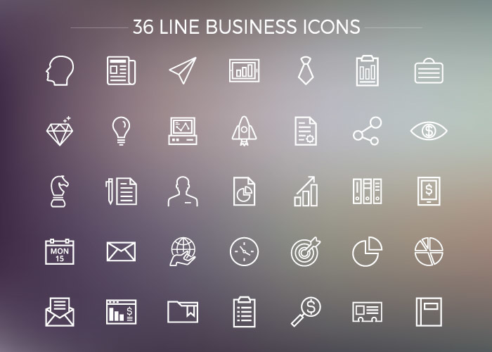 Ui icon sets