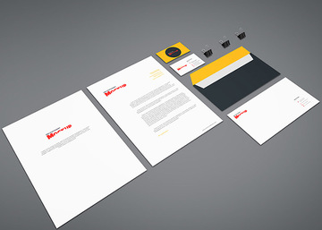 Branding Stationery Mockup Vol.8