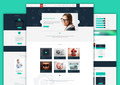 Mentum - PSD Single Page Template