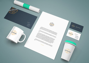 Branding Stationery Mockup Vol.9