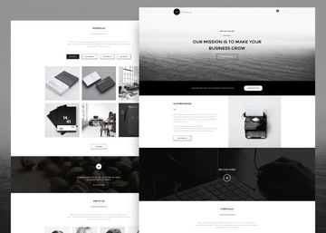 Wooster - Free Bootstrap Onepage Theme