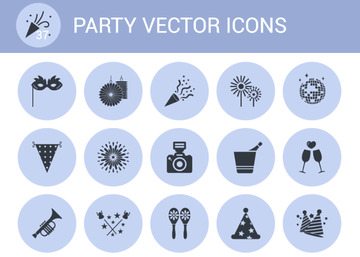 Free 37 Party Vector Icons