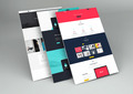 Perspective Web Design Mockup