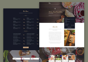 Fesco - Restaurant PSD Template