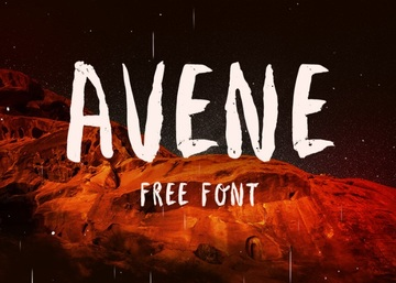 Avene - Fresh Hand Crafted Brush Typeface Font