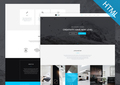 Modus - Free Bootstrap Single Page Portfolio Template