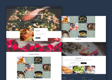 Foody - PSD Web Template For Food Business