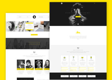 Sparkle - Free Multipurpose PSD Web Template