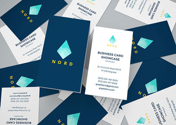 Business Cards Mockup Vol.15