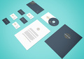Perspective Stationery PSD Mockup