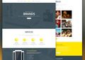 Molly - Free PSD Creative Single Webpage Template