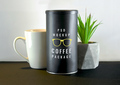 Coffee Tube Package Mockup
