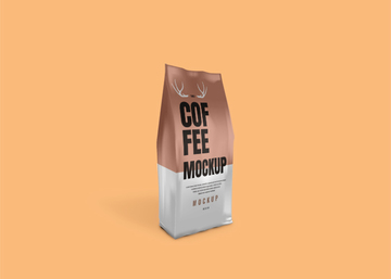 Coffee Bag PSD Mockup