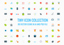 80 Tiny Vector Icons Collection