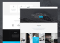 Modus - Single Page Portfolio PSD Template