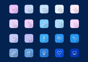 Viro - Modern Icon Set