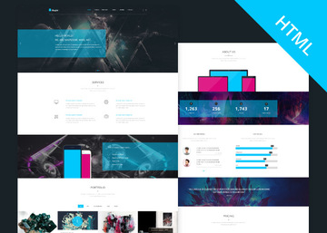 Kasper - One Page Creative HTML Theme